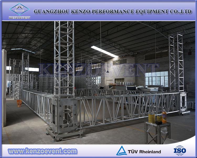 Cheap aluminum global truss roof system buy global truss for Cheap truss systems