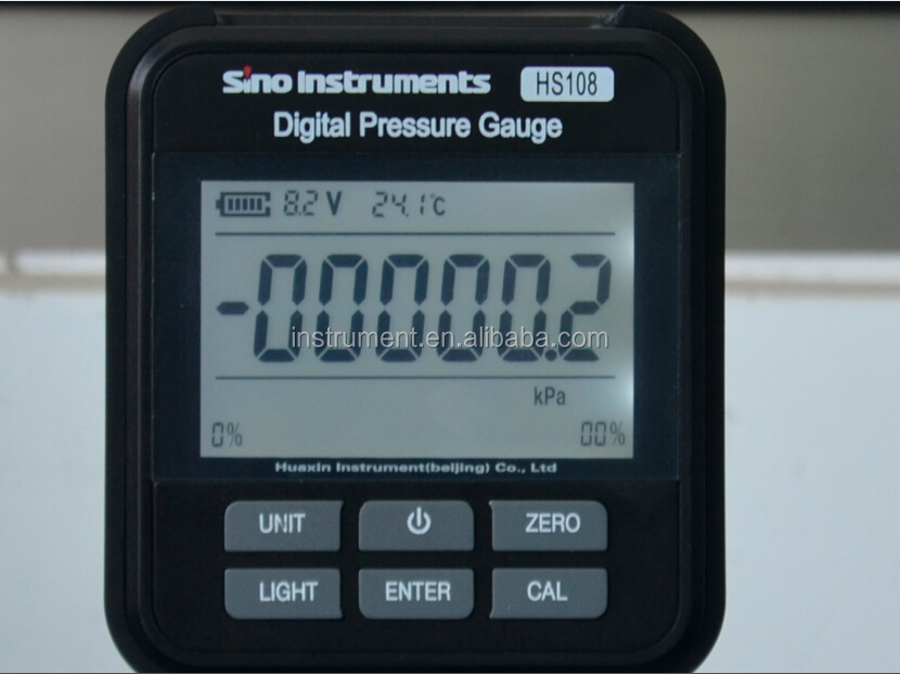 New style high quality digital pressre gauge HS108