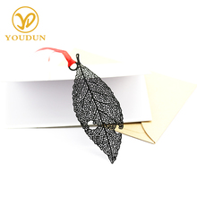 Eagle-shaped feather stainless steel bookmark