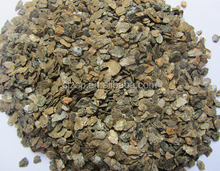 vermiculite raw expanded vermiculite golden and silver color