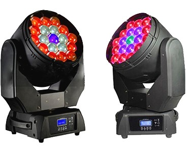 China factory cheap price 4in1 rgbw zoom dj light led moving head wash 19x15 for sale