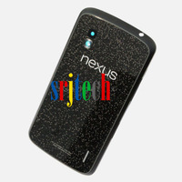 Original Google Nexus 4 for LG E960 Rear Battery Door Glass Case Back Cover USA