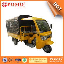 Semi Closed Body Tricycle Rural Tricycle For African Market Chinese Mini Car 250cc 200cc 175cc