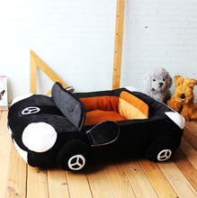 Fashion Colors Cool Car Shaped Dog Bed Luxury Comfortable Pet Dog Bed