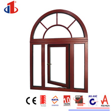 2017 Hot Sale Adjustable Aluminium Glass Louvre Bifold Window in China