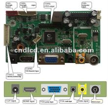 Multi-function LCD Monitor Control Board With One High-definition Digital Multi-media Interface(HDMI)1.3A HDCP1.2 And DVI 1.0