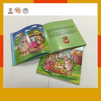 Children coloring books with hardcover and gloss film lamination