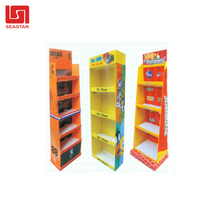 2018 Factory Price OEM corrugated fluted plastic display stands