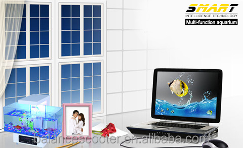 Made in China new product acrylic aquariums, clear aquarium 3d background with LED light