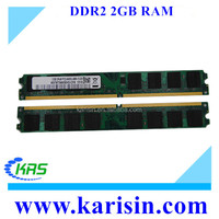 Computer parts from china with CE FCC RoHS memory ram ddr2 2gb 800