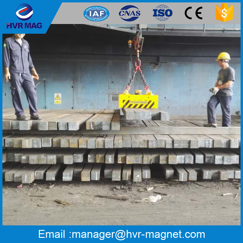 HVR MAGENTICS bar stock handling electro permanent magnetic lifter