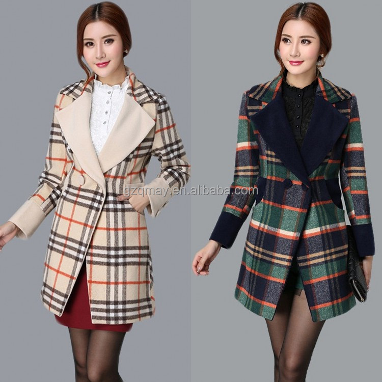 Bulk Clothing OEM Custom Design Wholesale Brand Name Russian Fashion Winter Coats Factory for Women Overcoat