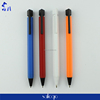 plastic colored hexangular shaped pen
