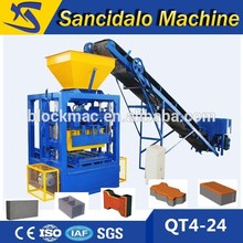 QT4-24 project proposal of machine hollow block making