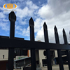 Designs iron fence post for sale Ornamental iron fence