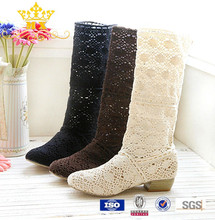 china hot sale knitted boots women