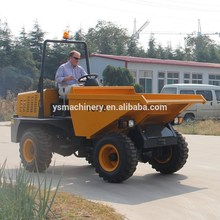 FCY30 4wd small off road truck 3 ton dumper