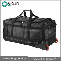 2016 duffel bags with trolley with wheels