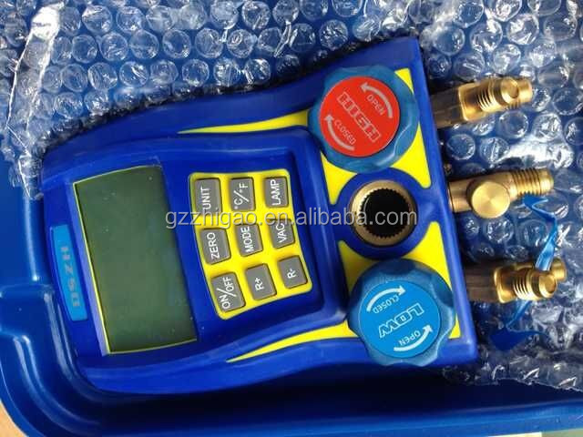 different gas digital manifold gauge for commercial and household car