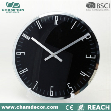 2015 new design glass wall clock