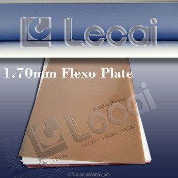 1.70mm Flexographic Photopolymer Plates
