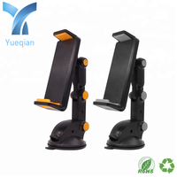 Flat plate mobile phone bending joint strong viscous sucker base dashboard smart phone car holder factory manufacturer