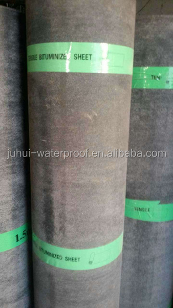 double side sand cover bitumen waterproof membrane/roofing underlay
