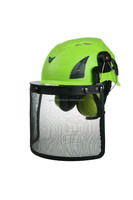 Plastic PP safety helmet, miner head protect safety helmet with visor