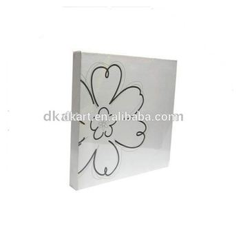 Stretched Canvas with Frame Stretched Painting Panel Board