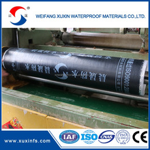 Torch on bitumen waterproof stretch construction material for walls