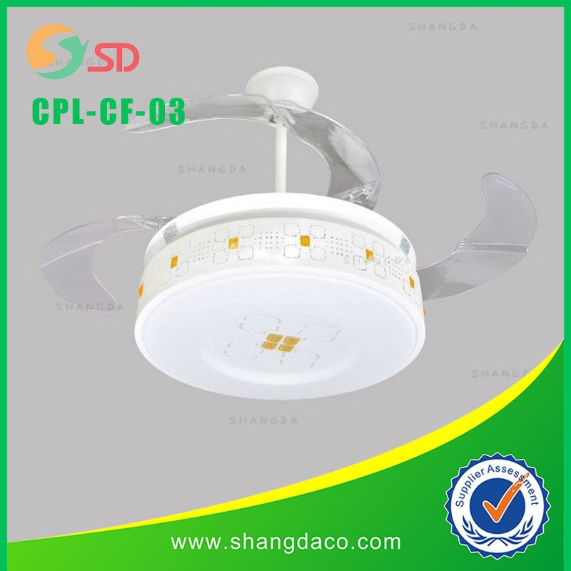 CPL-CF-003 Decorative ceiling fan with light