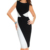 Midi Pencil Dress Long Sleeve Bandage Dress