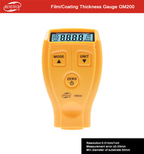 BENETECH coating thickness gauge gm200 / paint coating thickness meter gauge