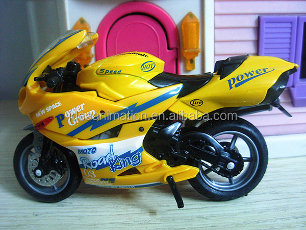 OEM plastic scale model motorcycles 1:24 toys and hobbies China manufacturer