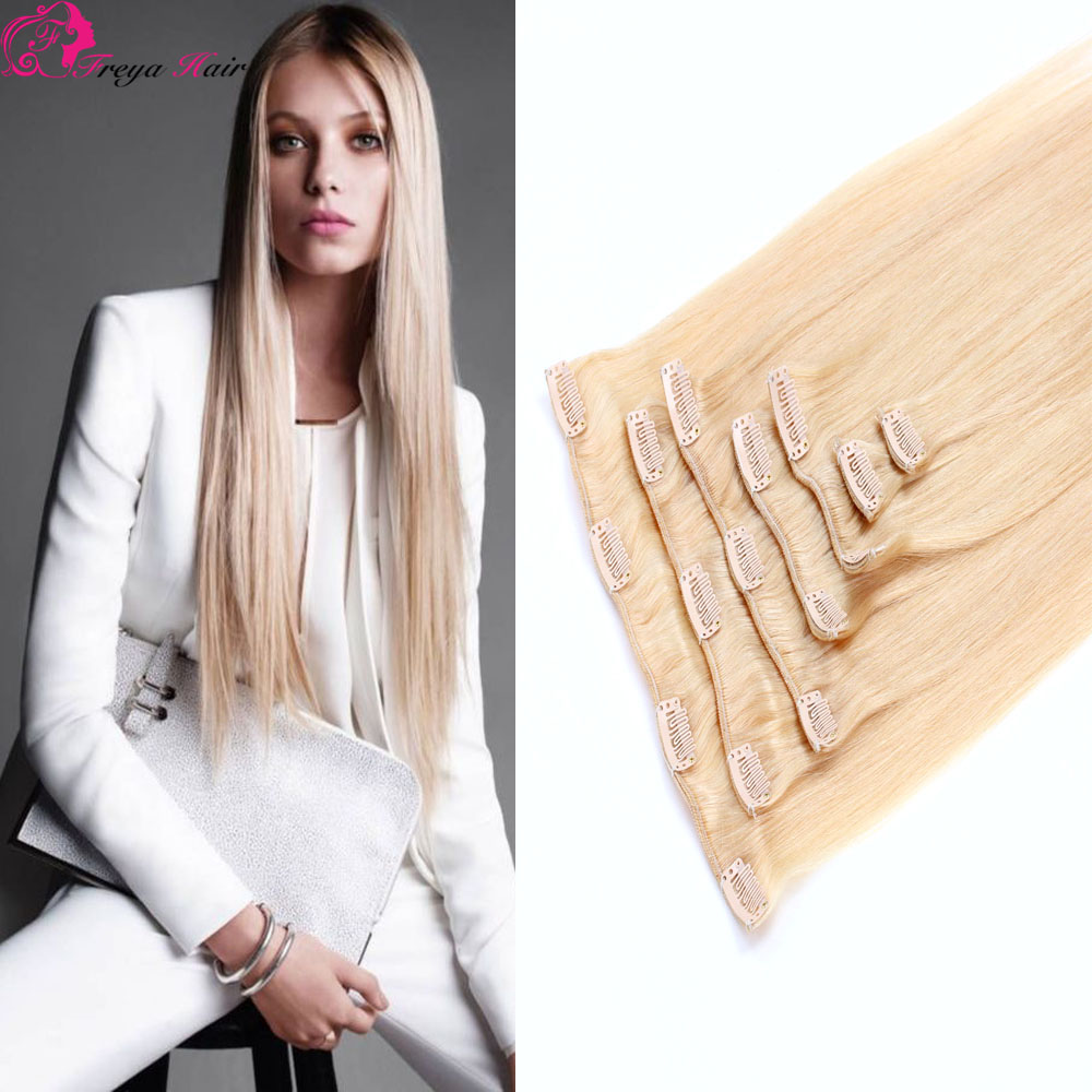 High quality factory wholesale malaysian human clip in hair extension