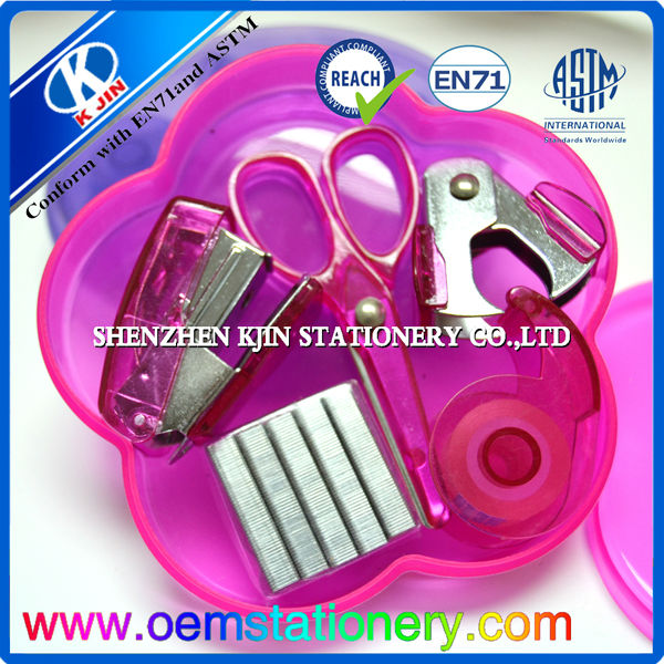 high quality 2014 new mini office stationery set/office stationery list