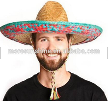 Wholesale women's wide brim mexican sombreros hat Factory