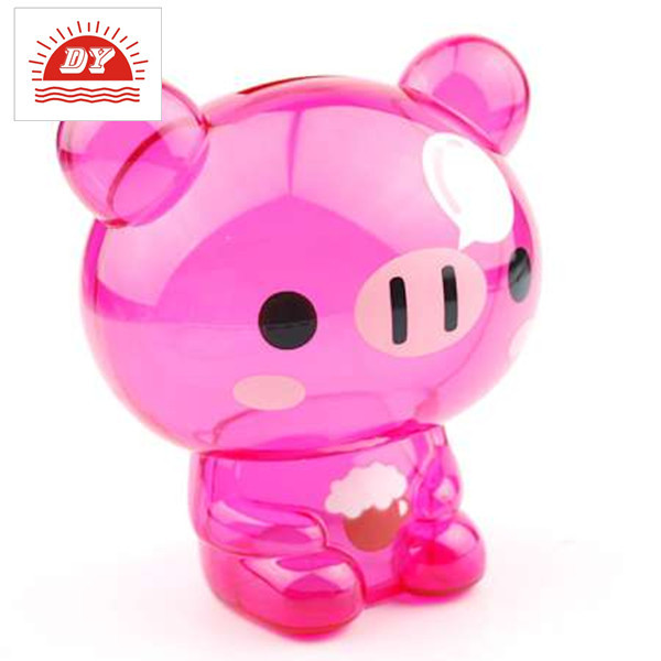 Cheap Transparent Plastic Money Box,Clear Money Box