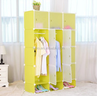 DIY clothing simple plastic cupboards designs clothes cupboard design for sale (FH-AL0742-12)