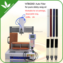 Wiscoo Automatic liquid filling machine cartomizer cartridge filling machine regeneration engine oil machine