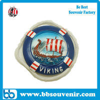 wholesale custom viking boat fridge magnet resin magnet souvenir