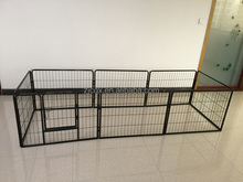 Outdoor steel dog enclosure kennel house wholesale