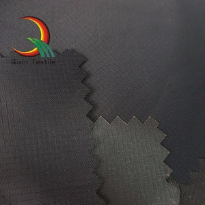 100% Polyester Rib-stop Pongee fabrics PU coated waterproof for ourdoor wear/bags