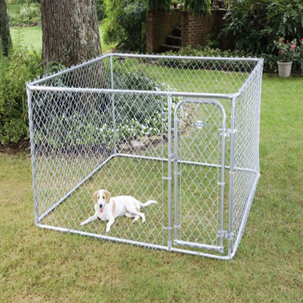 galvanized cheap chain lin dog kennels panels