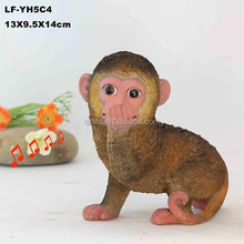 resin statue of monkey/resin animal statues