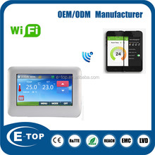 LCD digital wifi electronic room thermostat price low