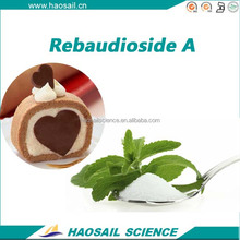 Natural sweeteners Stevia extract Rebaudioside A 98%