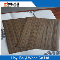 sliced cut natural wenge wood veneer
