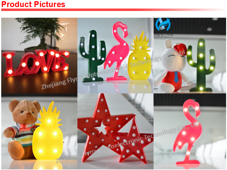 Hot sale flamingo marquee lights