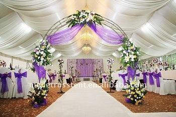 Big White Dancefloor Wedding Tent 15m25m